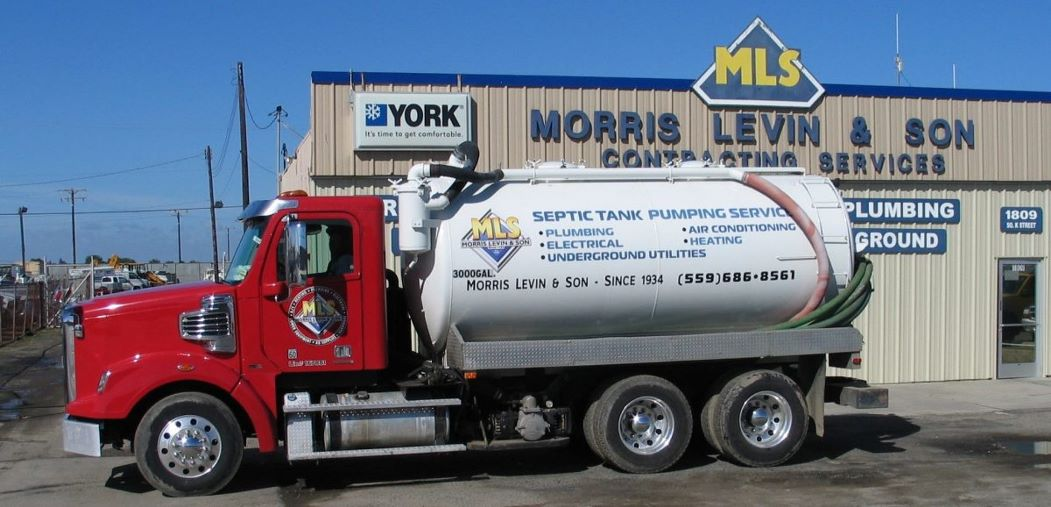 Morris Levin & Son Septic Pumping Truck